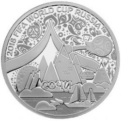 "Commemorative medal ""Sochi"", silver"