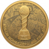 "Coin ""2017 FIFA Confederations Cup "", 50 rubles, gold"