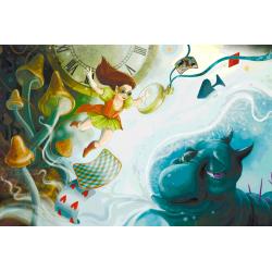 Стимпанк Алиса в Стране чудес