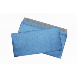 Конверты темно-синие блестящие E65
