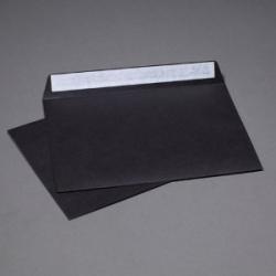 Конверт черный C6