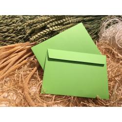 Конверт зеленый C6