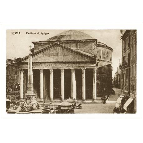 Roma. Pantheon di Agrippa.