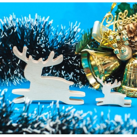 "Christmas Toy ""Leaping Deer"""