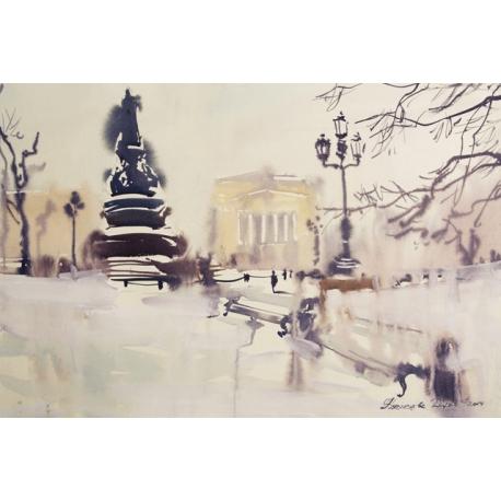 Saint Petersburg. The Catherine garden