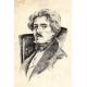 Portrait. Eugene Delacroix. For Artbookmania magazine