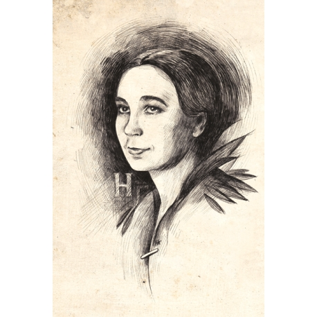 Portrait. Natalia Goncharova. For Artbookmania magazine