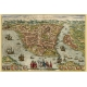Istanbul, Map Maker - Georg Braun & Franz Hogenberg, 1572.