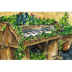 Blossoming piano