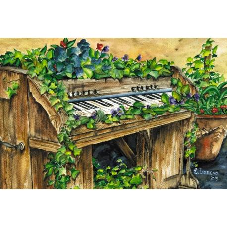 Цветущее пианино