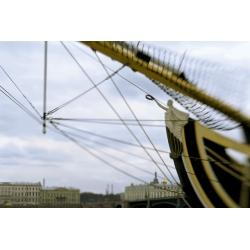 Вид с Петровской набережной, Санкт-Петербург