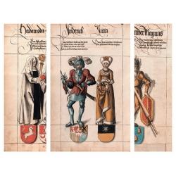 Lucas Cranach the Elder. Saxon nobility collection