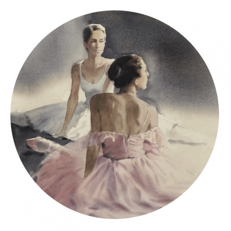 Two ballerinas