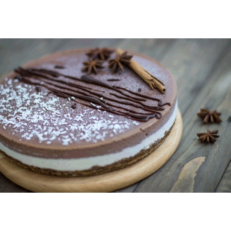 Raw Chocolate Cashew Cake