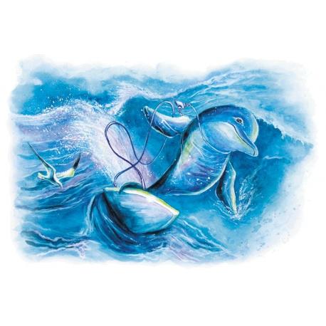 Мир дельфинов. Серфингист