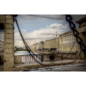 St. Petersburg. Lomonosov Bridge