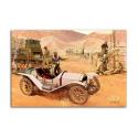 Vintage Car - artwork by Kenneth Pauling Riley