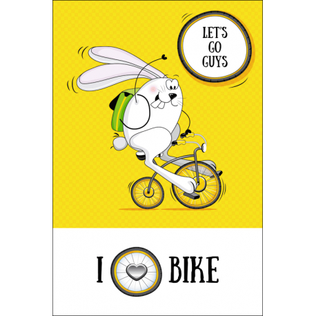 The hare cyclist
