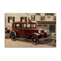 Ford four-door Sedan 1930 - artwork by James Williamson
