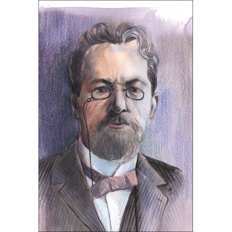 Russian writers. Anton Chekhov