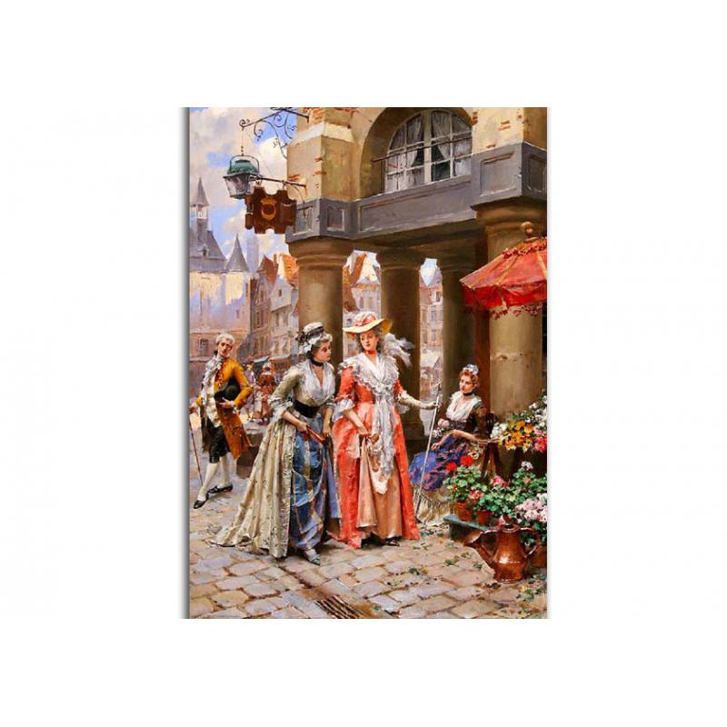 Галантный век открытки