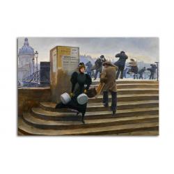 Парижские зарисовки - художник Jean Beraud
