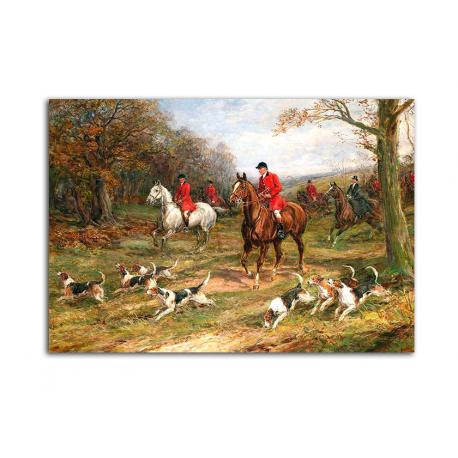 Охота - художник Heywood Hardy