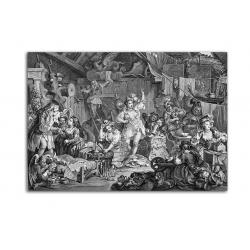 Гравюра - художник William Hogarth