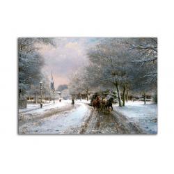Зима - художник Otto Eerelman