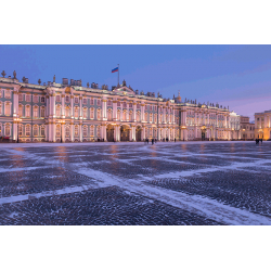 St. Petersburg. Winter Palace in the Morning