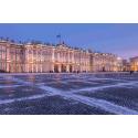 Санкт-Петербург. Утренний Зимний дворец