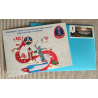 "FIFA 2018 gift set: envelope, postage stamp ""Volgograd"" and postcard ""Volgograd"""