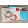 "FIFA 2018 gift set: envelope, postage stamp ""Ekaterinburg"" and postcard ""Ekaterinburg"""