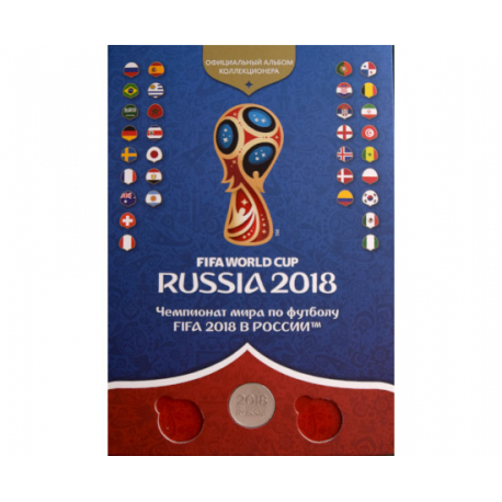 Official collector's album - 2018 FIFA WORLD CUP RUSSIA