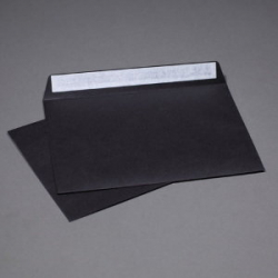 Envelope black C6