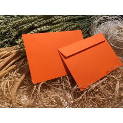 Envelope orange C6