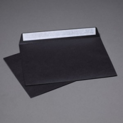Envelope black C4
