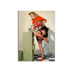 Classic Pin-Up artwork by Gil Elvgren