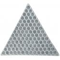 Светоотражающая наклейка, треугольник 5x5 см, белый, 10 шт.