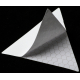 Светоотражающая наклейка, треугольник 5x5 см, желтый