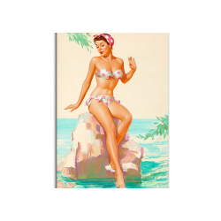 Classic Pin-Up - artwork by Knute Munson