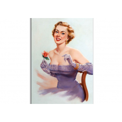 Classic Pin-Up - artwork by T.J.Kuck