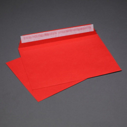 Envelope red C5