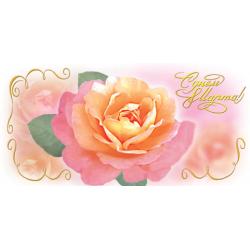 С днем 8 Марта! Двойная поздравительная открытка