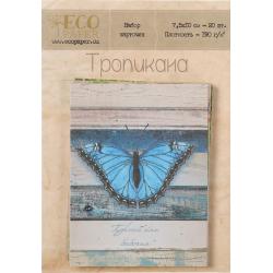 """Набор карточек для скрапбукинга (20 шт) """"Тропикана"""""""