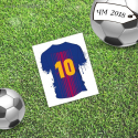 "Mini-card ""Best"", football"