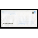Simple bulleted envelope C65 with letter A