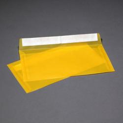 Конверт Прозрачно-темно-желтый из кальки E65,