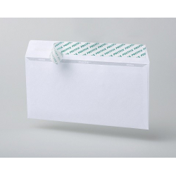 Envelopes E65, sealing, ribbon, 1000 pcs/ pack