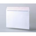 Конверты С4, серая запечатка, прямой клапан, силиконовая лента, 500 шт/уп